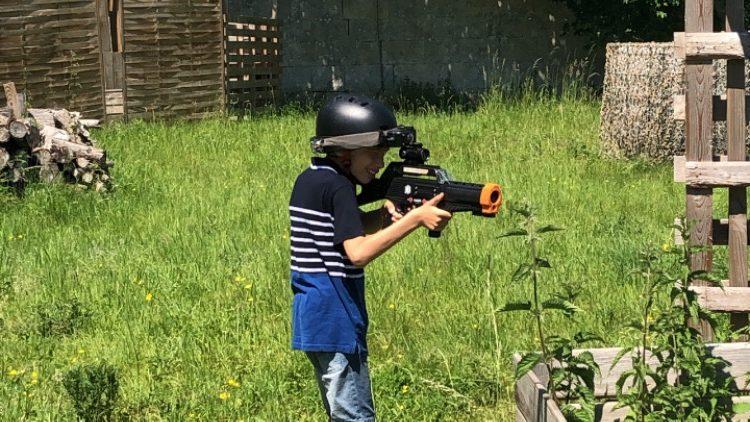 Laser game extérieur